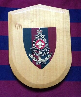 Army Wall Plaque-The King's Regiment