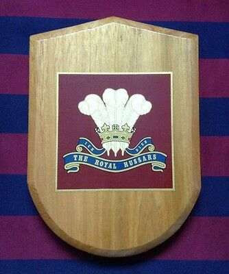 Army Wall Plaque -The Royal Hussars