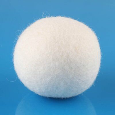 TOP RATED Wool Dryer Balls Natural Organic Fabric Softener 100% New Wool