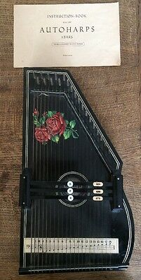 Vintage German Autoharps 3 Bar - Collectors Item MUST BE SEEN