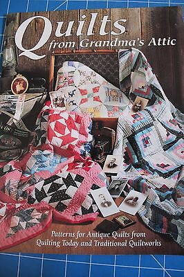 Quilts from Grandma's Attic ~ Patterns for Antique Quilt Designs