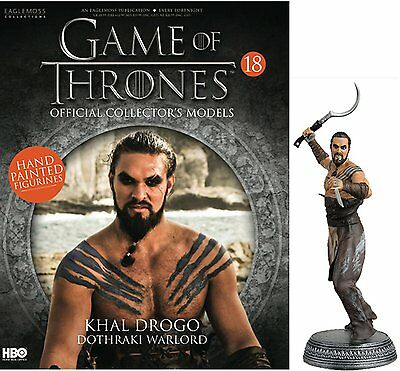 Game of Thrones Official Collectors Models Issue 18 Khal Drogo #R14 - Issue 18
