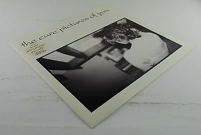 THE CURE - Pictures Of You LP! 1°ST UK Press! Beauty Copy! Stickered!