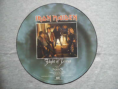 "Iron Maiden -""flight Of Icarus''picture Disc Limited Edition - Collector's Piece"