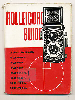 "W.D.Emanuel libro ""Rolleicord Guide"" 1972 in inglese D753  BIS"