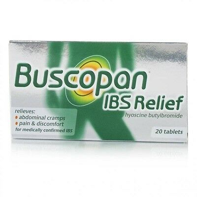 Buscopan Ibs Relief 20 Caps Relieves Abdominal Cramps Free Shipping Usa