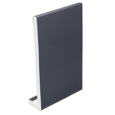 Grey Anthracite Plastic UPVC PVC Fascia Cover Board Various Widths 1 X 2.5m -98""