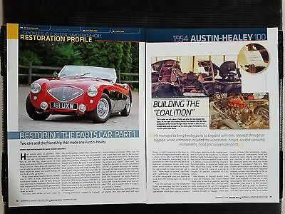 1954 Austin-Healey 100 - 6 Page Article - Free Shipping