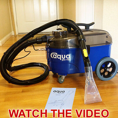 Portable Carpet Cleaner Spotter Extractor great for Auto Detailing Aqua Pro Vac