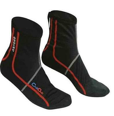 Oxford Chillout Thermal Windproof/Waterproof Motorcycle Inner Socks Small to XXL