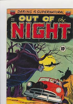 Out Of The Night #1  Feb-Mar 1951 Nice Copy