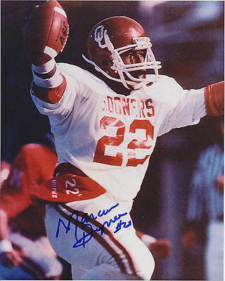 Marcus Dupree autographed 8x10 OU Oklahoma Sooners #2 Free Shipping