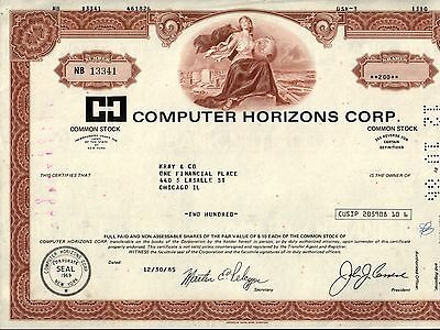 RARE PIONEER COMPUTER STOCK of 1969 Read Important & AMAZING History WORTH $100+