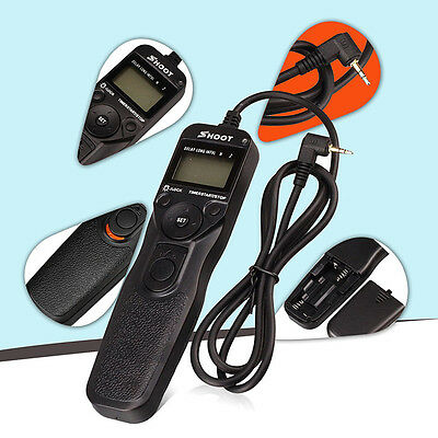 RS-60E3Time intervalometer Timer Remote Shutter Release Cord for Canon