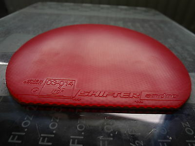 used table tennis rubber Andro Shifter  W147mm x H155mm