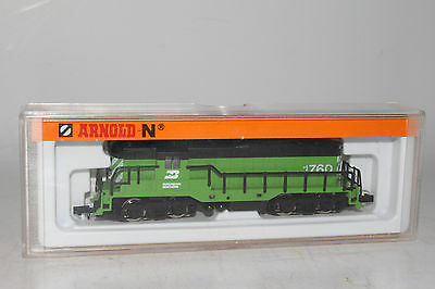 Arnold N Scale Rapido #5044, Burlington Northern Diesel Locomotive Engine #1760