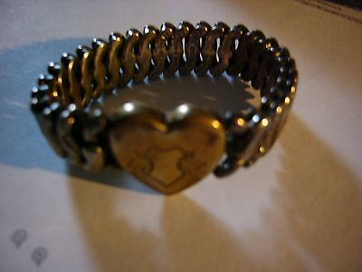 Old  Sterling Silver Base Vintage Jewerly Braclet By Pitman And Keeler