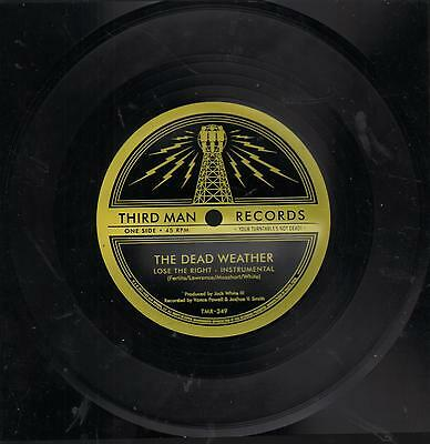 """Dead Weather - 7"""" SQUARE FLEXI - Lose The Right - Jack White THIRD MAN RECORDS"""
