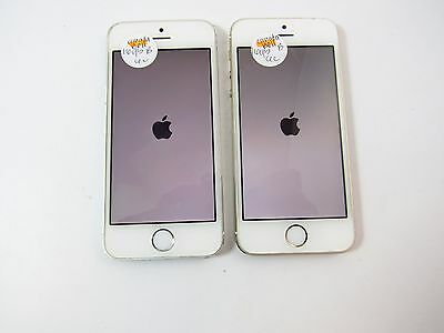 Lot of 2 Apple iPhone 5s 16GB (A1533) (Canadian Bell) (Check ESN)_B12