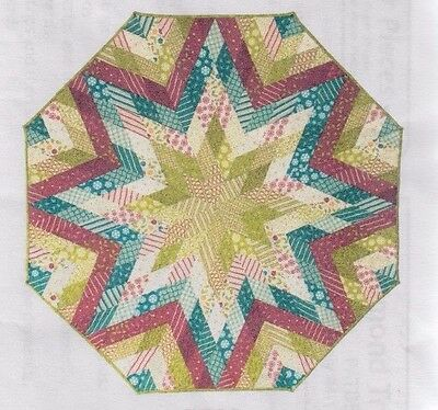 Diamond Tree Skirt - Christmas PATTERN and English paper piecing papers