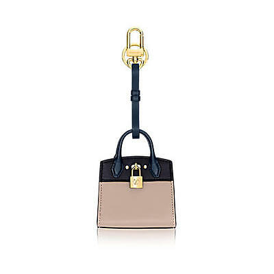 Louis Vuitton City Steamer Bag Charm & Key Holder Mp1788 - New - Authentic
