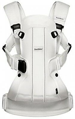 BABYBJORN Baby Carrier We Air (White, Mesh)