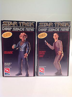 AMT ERTL STAR TREK DEEP SPACE NINE COLLECTOR EDITION ODO and Quark kits 1995,