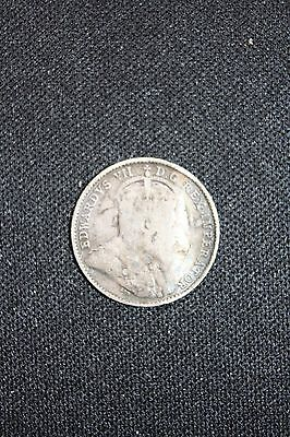 1908 Canada Silver 5 Cents Canadian 5 cents coin 150