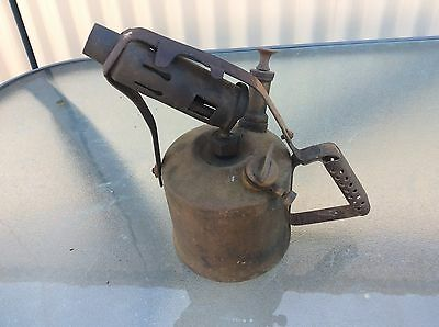 Antique Companion Brand Brass Blow Torch