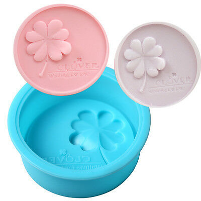 Clover Shape Silicone Soap Candy Cookie Chocolate Candle Mold Mould Making Tool