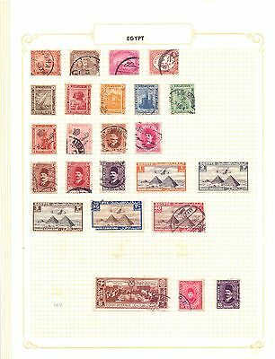 Africa & Colonies  Selection of 541, M and U.