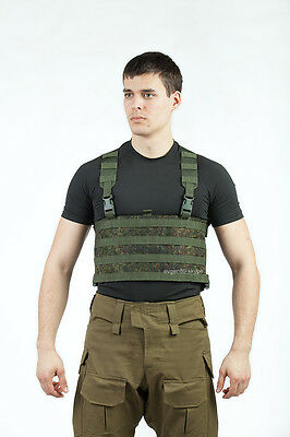 TECHINKOM Chest Rig Platform 4 on 12 Molle EMR Digital Flora Russian Original