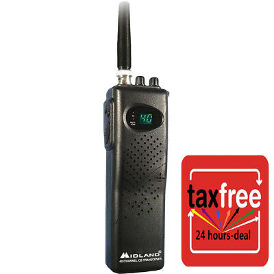 Channel Midland Cb Radio Mobile Model Handheld Transceiver Weather Portable New