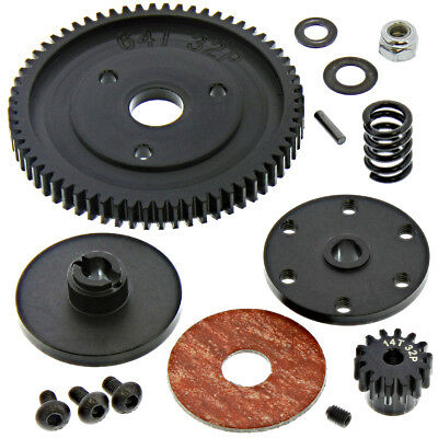 RC4WD 1/10 GELANDE II * 64T SPUR GEAR, 14T STEEL PINION & SLIPPER CLUTCH *Spring