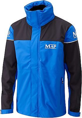 Map 3/4 Length 3 Layer Waterproof Breathable Coarse Fishing Jacket - All Sizes