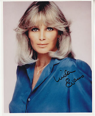 LINDA EVANS (1942- ) hand signed 8x10 autographed photo | photograph