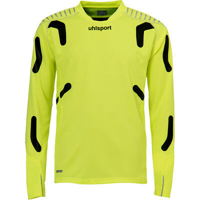 Uhlsport TORWARTTECHNIK GOALKEEPER SHIRT Size L fluo yellow/black