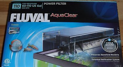 Brand New Fluval Aquaclear 110 A620 Power Filter Free Shipping