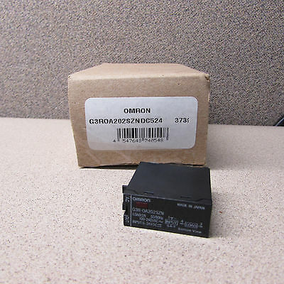 Omron G3R-Oa202Szn-Dc524 Solid State Relay 24Vdc