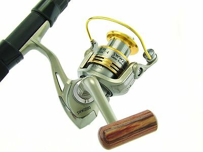 SARATOGA 6'0 12kg Telescopic Travel Spinning Fishing Rod and Reel Combo Bream