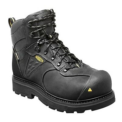 8a0c328ccdd KEEN UTILITY MEN'S 1015395 Tacoma Black Composite Toe Work Boots