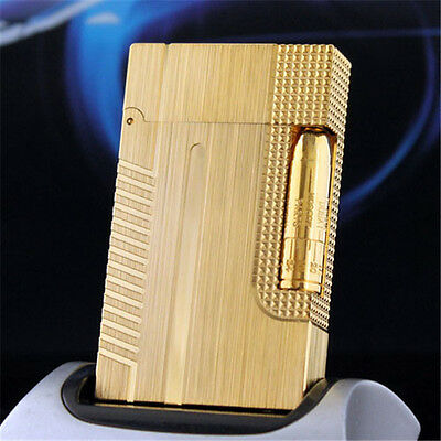 Hot Bond 007 Lighters Memorial S.T Dupont Lighter Bright Sound Lacquer Gold