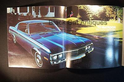 Original 1973 American Motors Matador/Stationwagon Fold-Out Brochure Canada