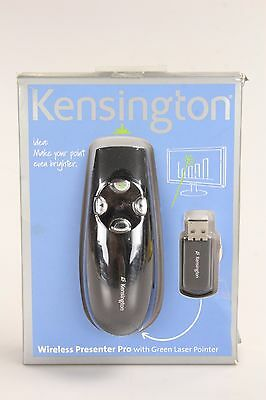Kensington Wireless Presenter Pro w/ Green Laser Pointer, Presentations