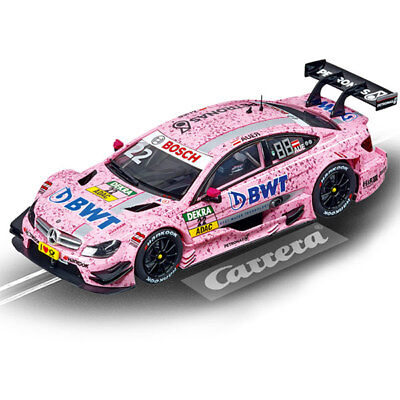 CARRERA Slot Car 27538 AMG Mercedes C Coupe DTM 'Lauer' - 1/32 Scalextric