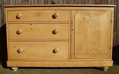 Victorian Pine Lincolnshire Dresser Sideboard
