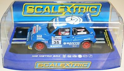 Scalextric C3639 MG Metro 6R4 - No 35 Willie Rutherford - DPR 12v NEW
