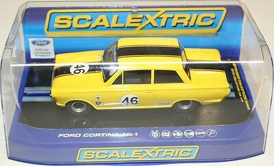 Scalextric C3502 Ford Cortina MK1 - Dan Cox 2012 HSCC ByBox HTCC Champion - NEW