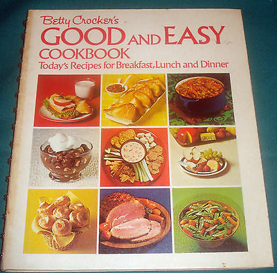 VINTAGE COOKBOOK - 1971 Edition of BETTY CROCKER'S GOOD AND EASY COOKBOOK