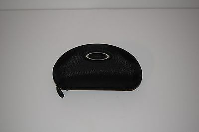 Authentic Oakley Racing Jackets Jawbo Vault Case Black Sunglasses Hard Shell Zip